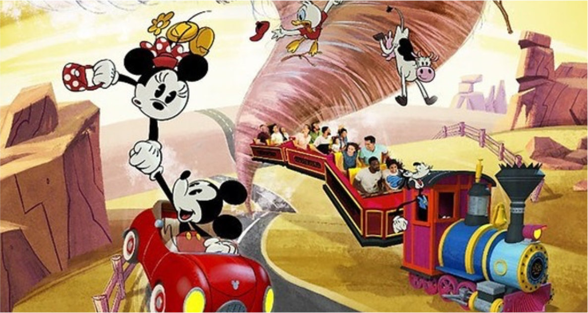Mickey & Minnie Runaway Railway Fastpass+ Now Available