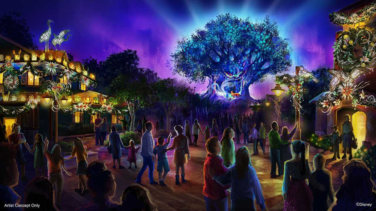 Holiday Celebrations Coming to Animal Kingdom