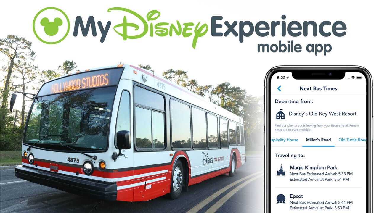 My Disney Experience Now Shows Bus Wait Times