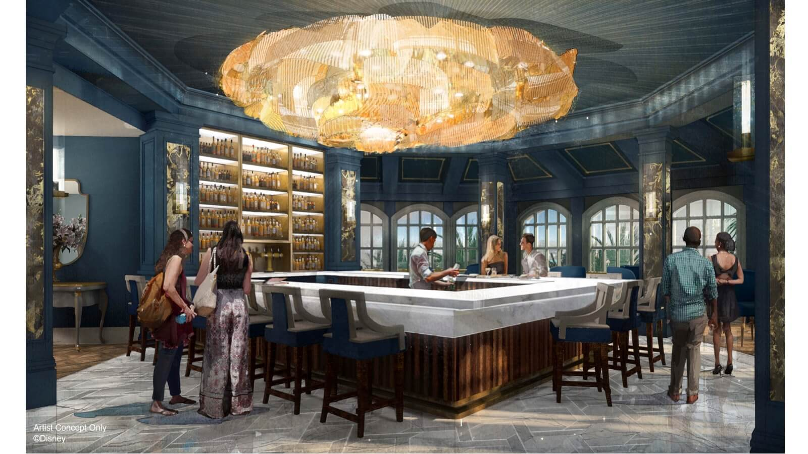 Beauty And The Beast Inspired Lounge Coming To Grand Flordian