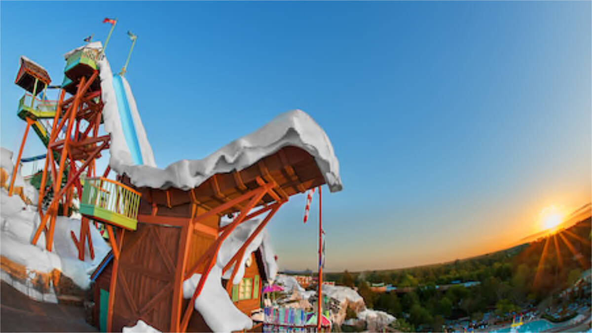 Blizzard Beach To Close Early This Year