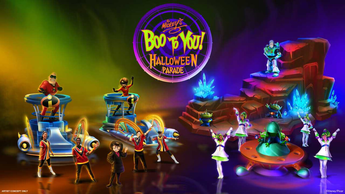 Halloween Party Boo To You Parade Getting Updates This Year