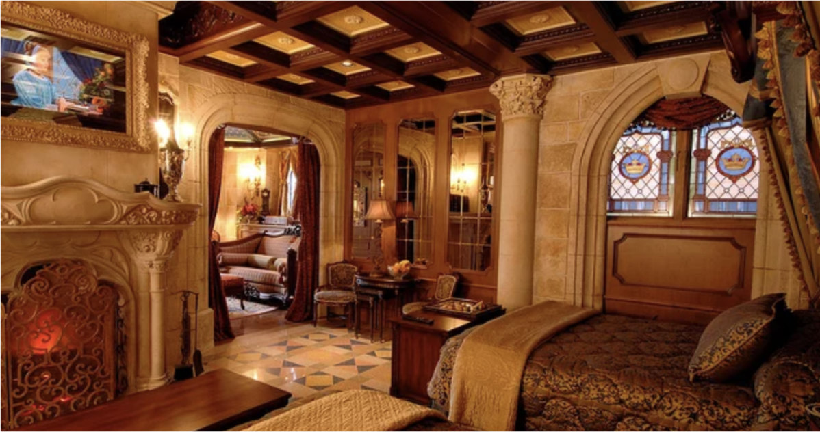 Disney Shares Video Of The Cinderella Castle Suite