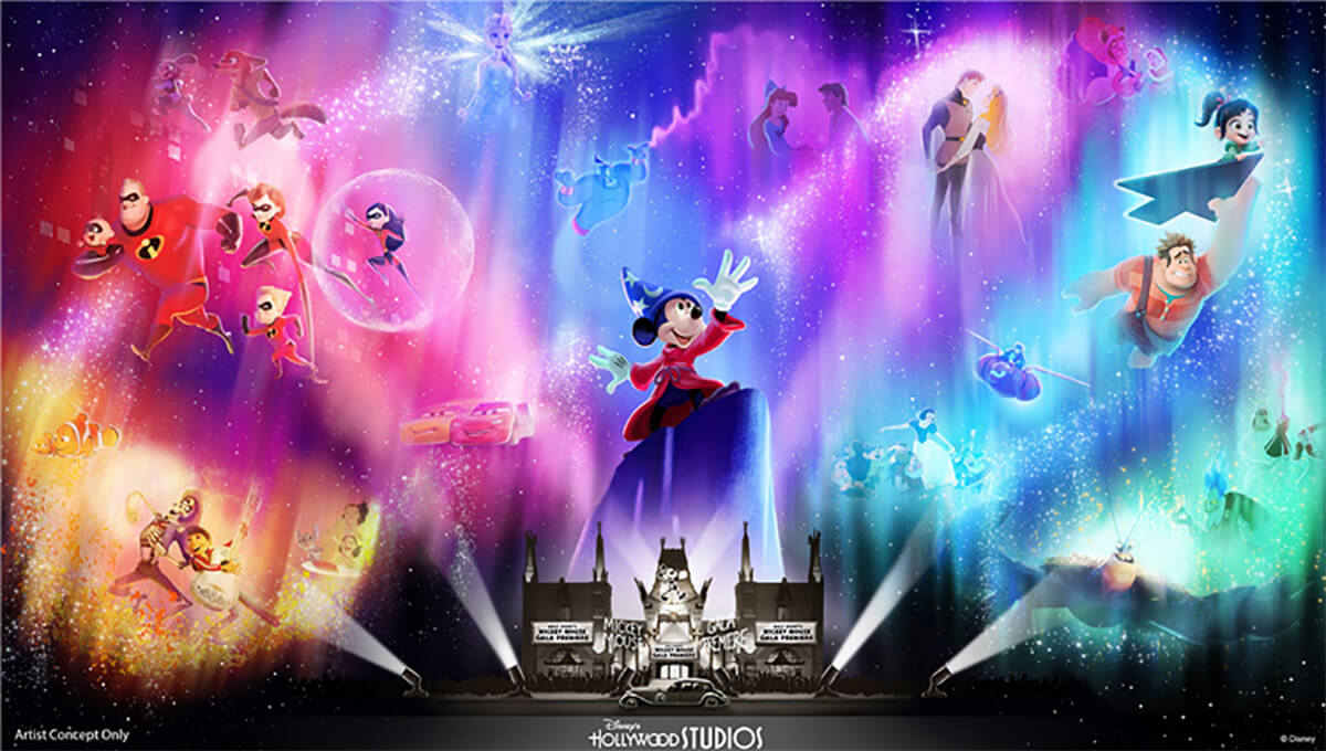 D23: New Nighttime Show Coming to Hollywood Studios