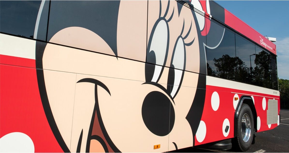 New Character Buses Coming to Disney World