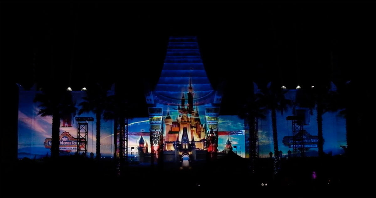 Disney Movie Magic, A Surprise New Nighttime Show At Hollywood Studios