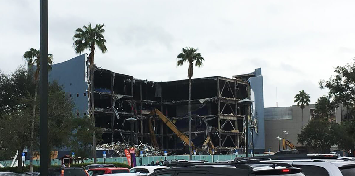 Disney Quest Demolition Under Way