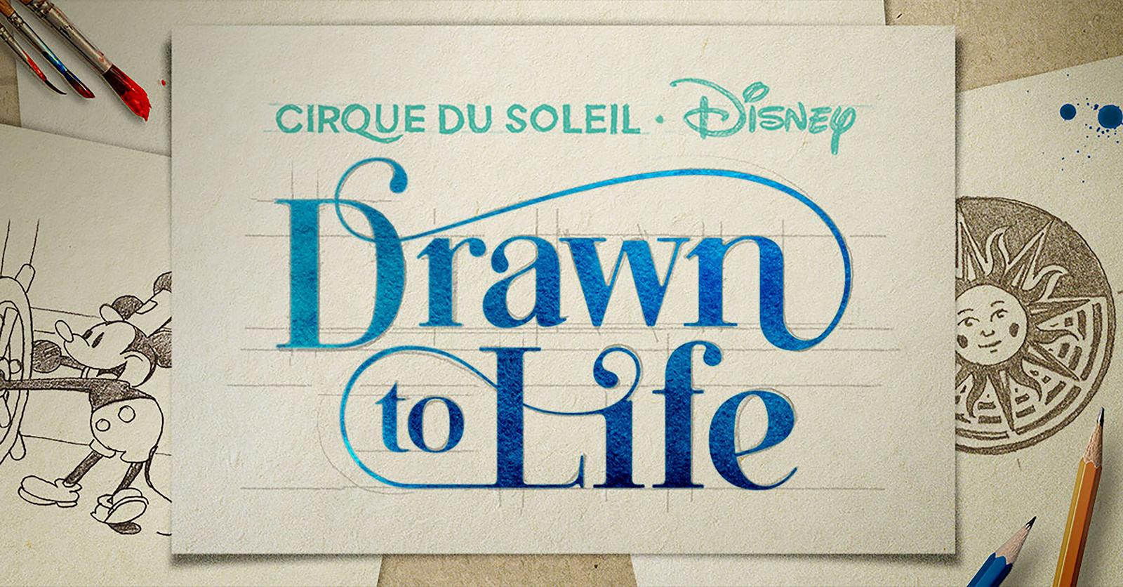 "Cirque du Soleil ""Drawn To Life"" Still Coming To Disney Springs"