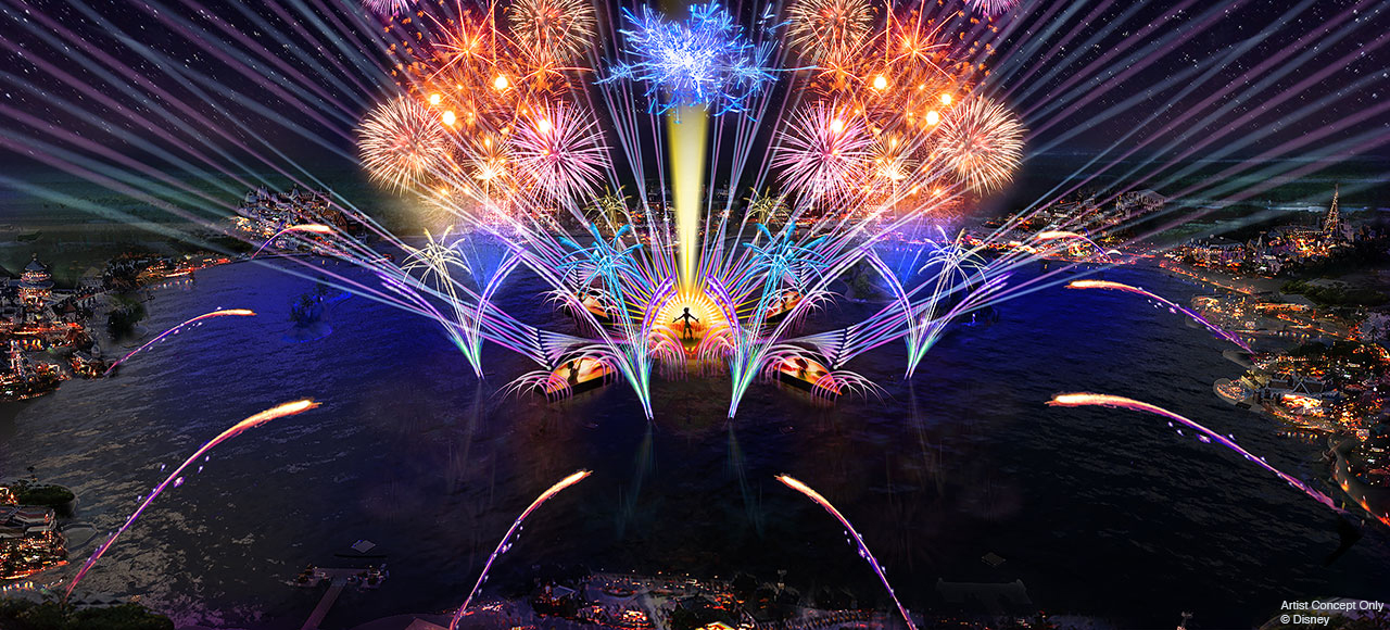 HarmonioUS Nighttime Show At Epcot To Debut Spring 2020