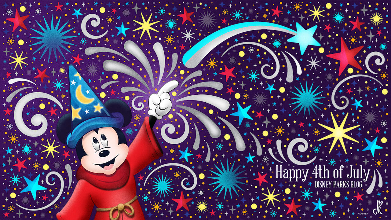 Disney Shares July 4 Wallpaper