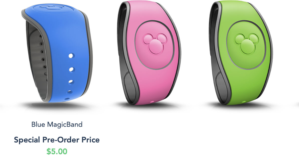Previously Included Magic Bands Now Cost $5