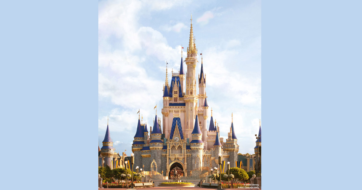 Cinderella Castle To Receive A Royal Makeover