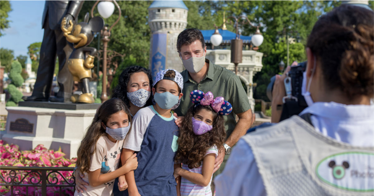 Guests Can Take Masks Off For Outdoor Photos Starting April 8th