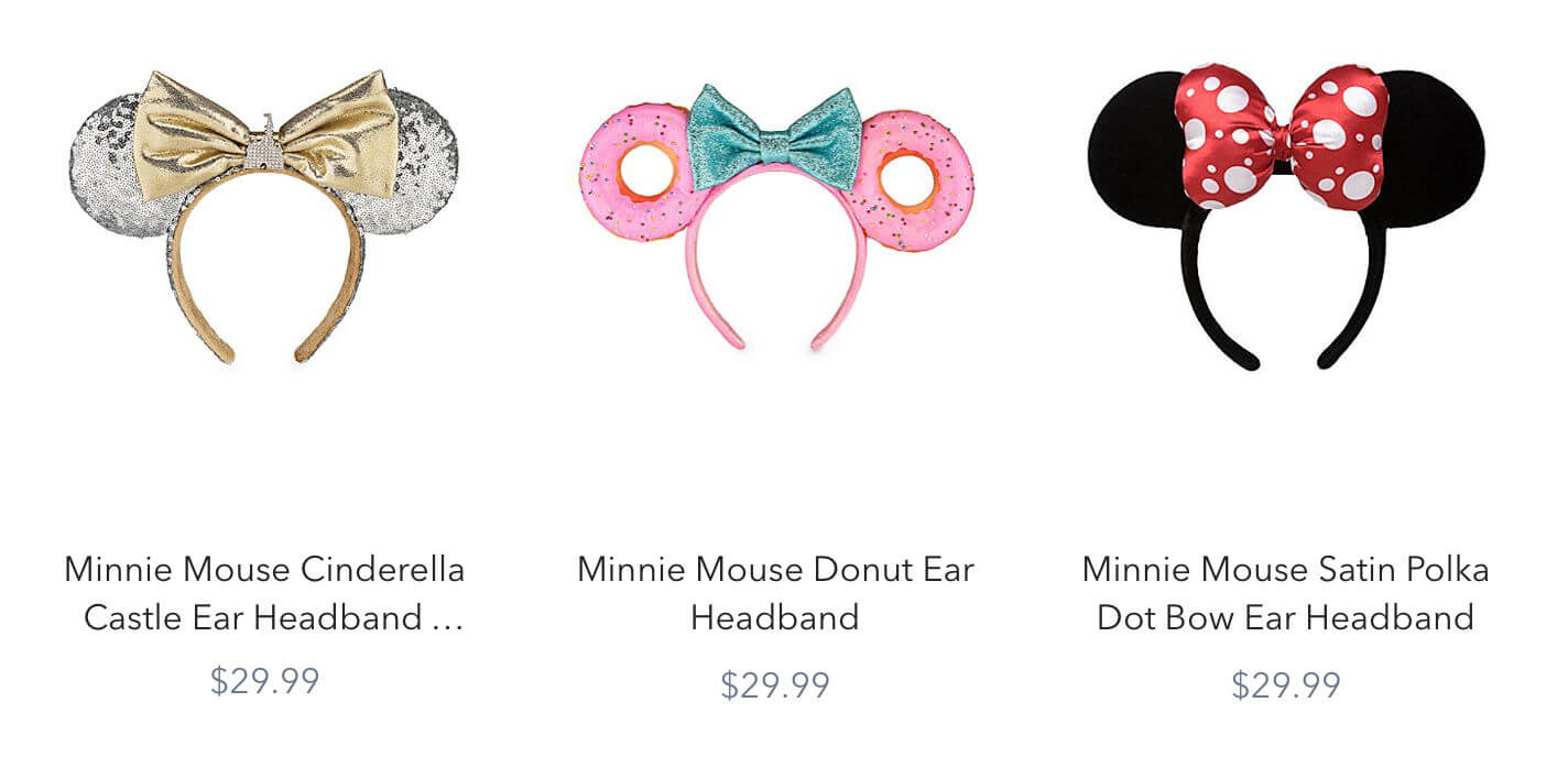 Ear Headbands Increase In Price Across Disney Parks