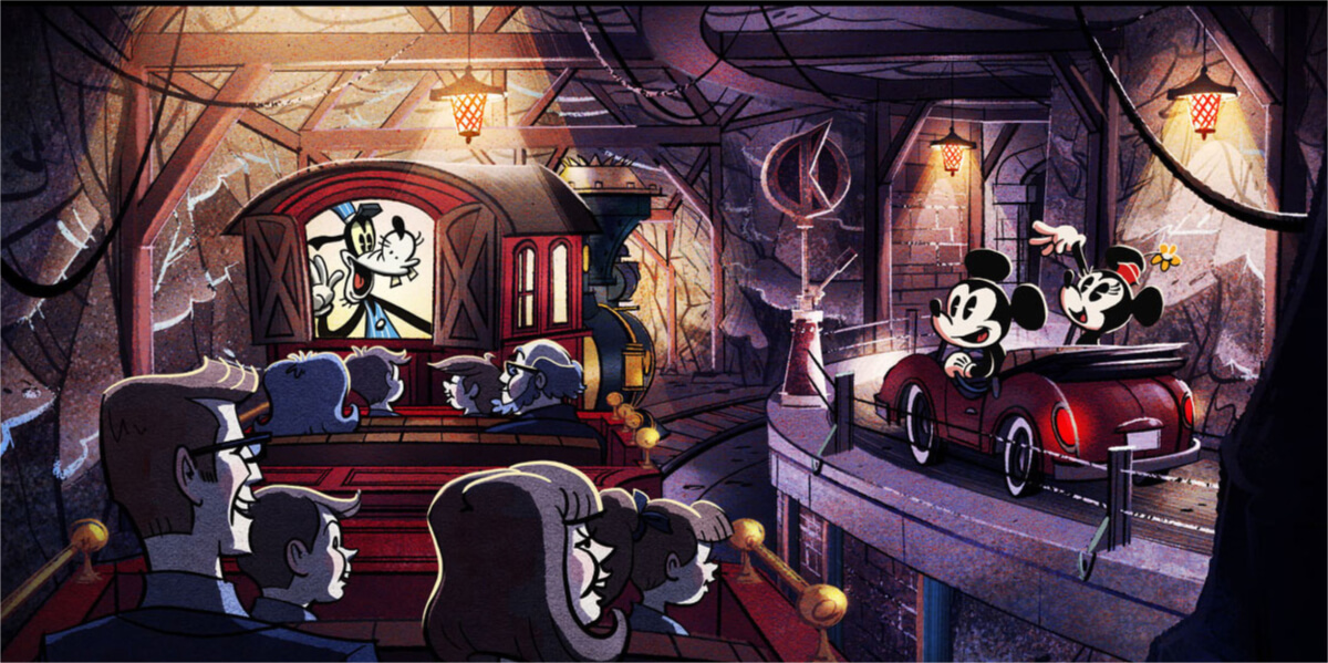 Mickey & Minnie Runaway Railway Opening Date Announced