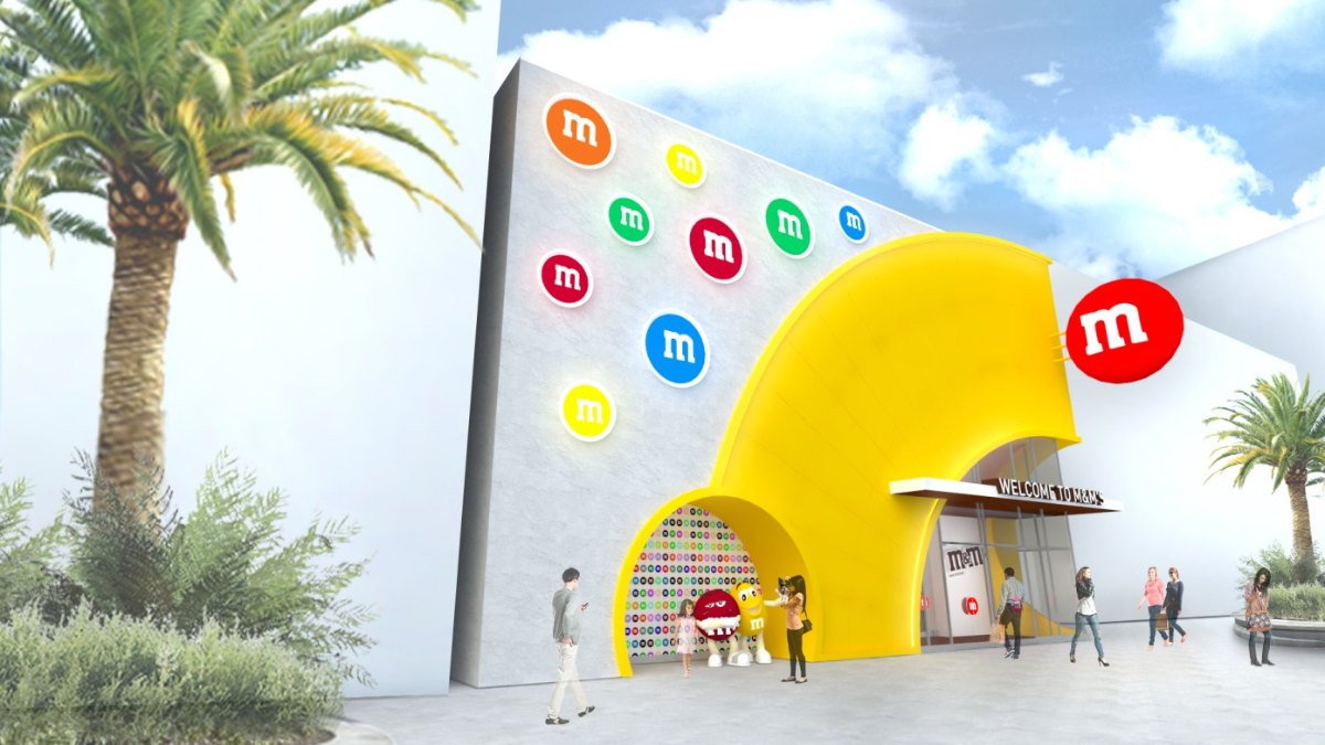 Concept Art Released For Disney Springs M&Ms Store