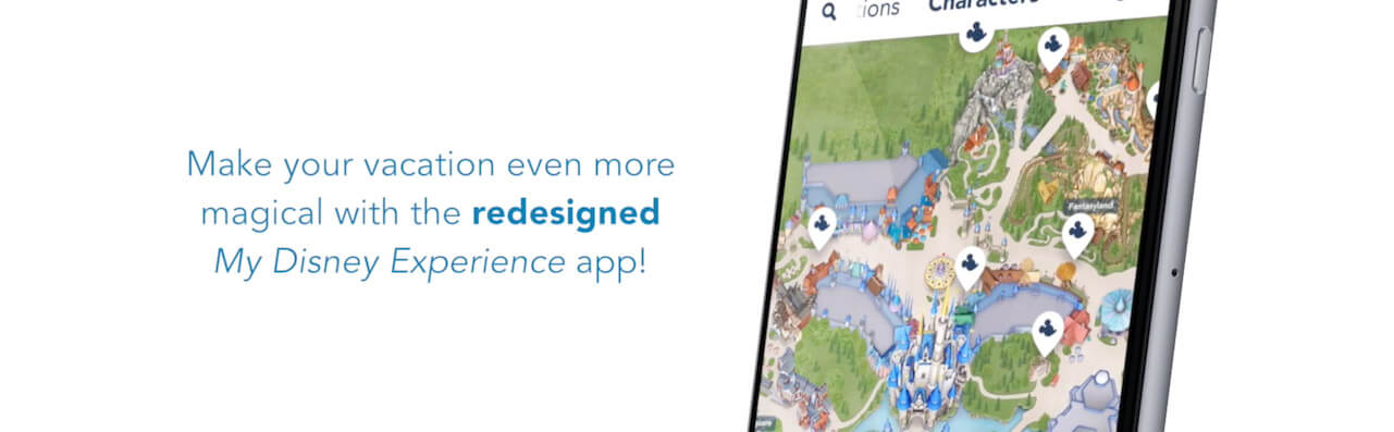 Disney Have Released A Brand New My Disney Experience App Look