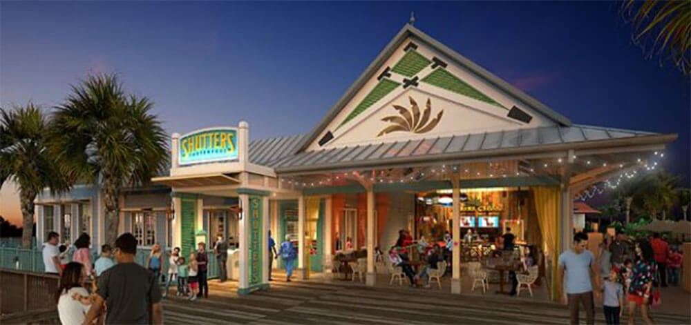 Disney Shares Look Of Redesigned Caribbean Beach