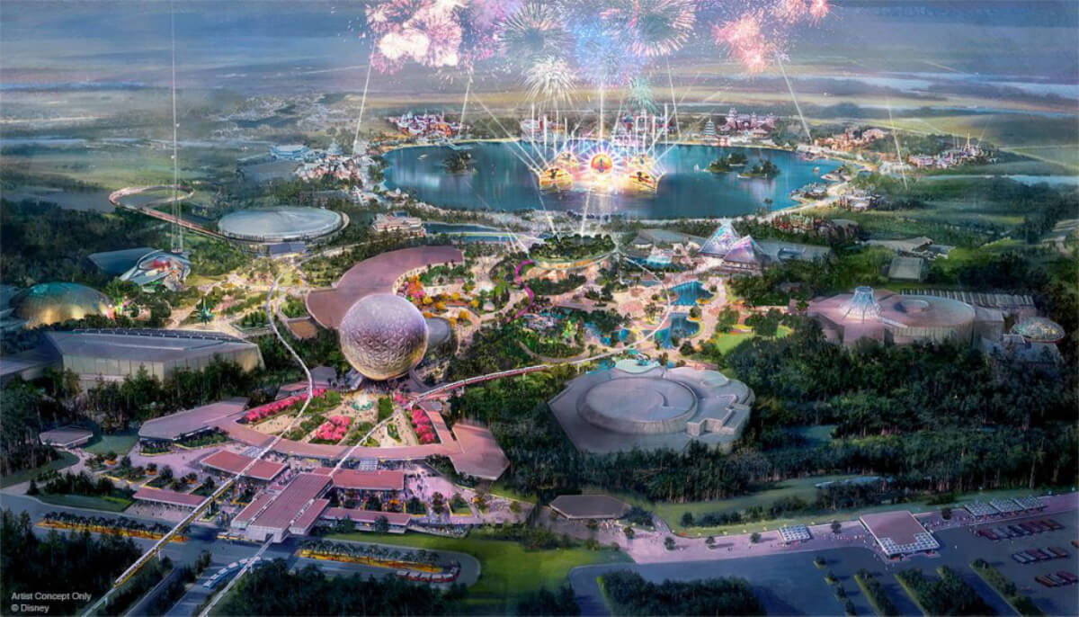 D23: New Epcot Concept Art And Logo