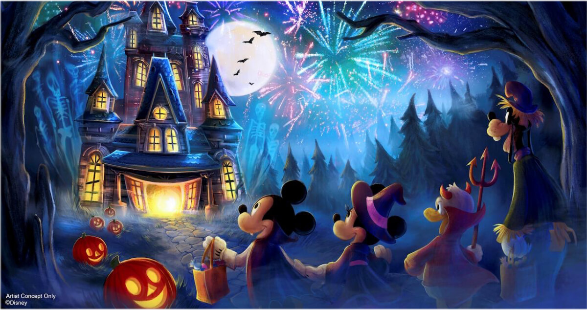 New Fireworks Show Coming To Mickeys Not So Scary Halloween Party