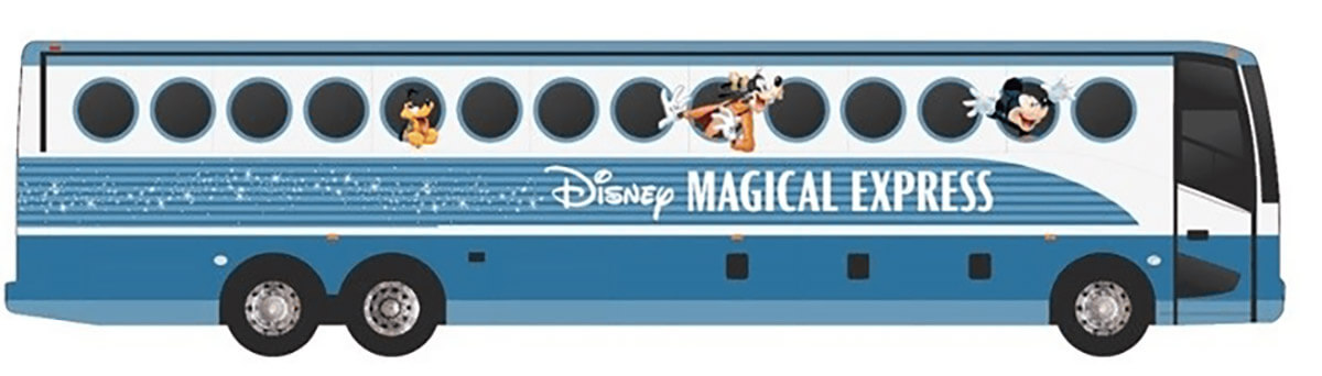 New Disney Magical Express Look