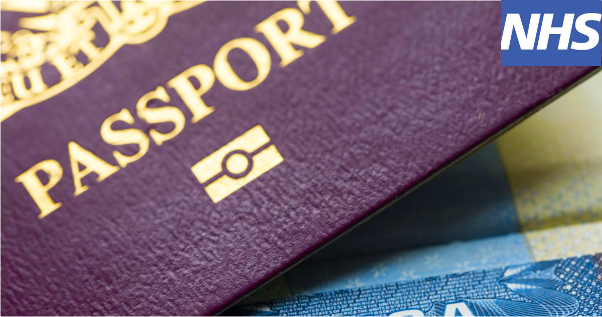 "NHS App To Be Used As ""COVID PASSPORT"" For International Travel"