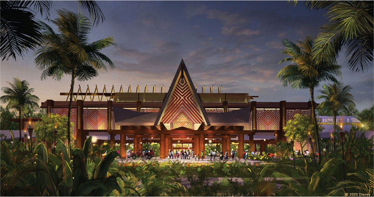 New Polynesian Village Resort Concept Released