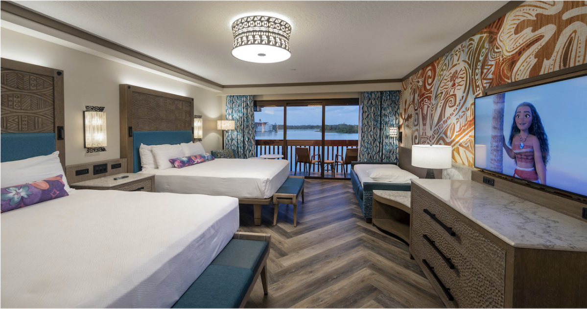 First Look At Polynesian Village Resort Moana Inspired Rooms