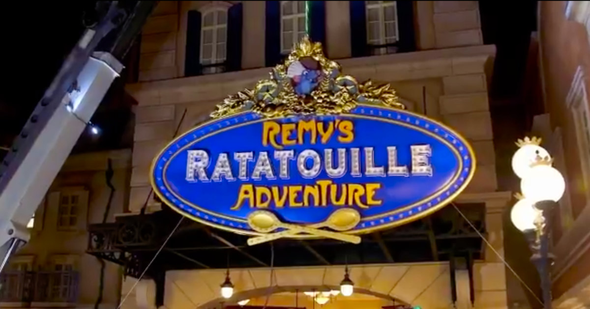 Remys Ratatouille Adventure At EPCOT Opening October 1st 2021
