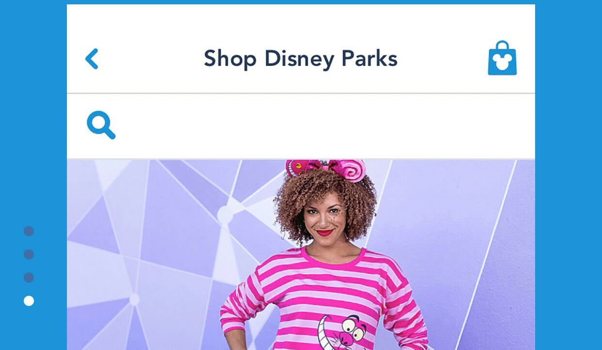 You Can Now Shop Via My Disney Experience App