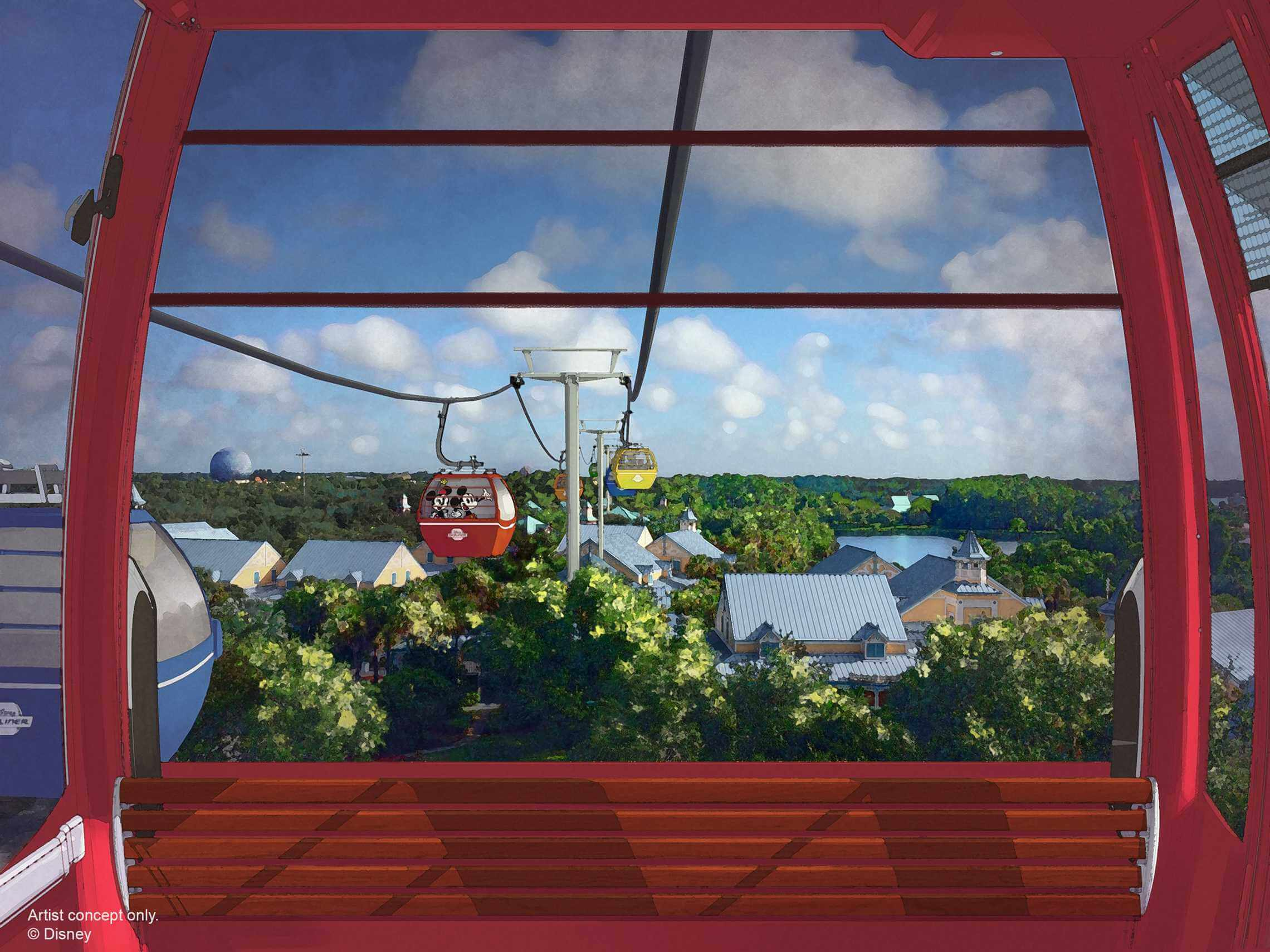 Disney World Gondola Transportation System Confirmed