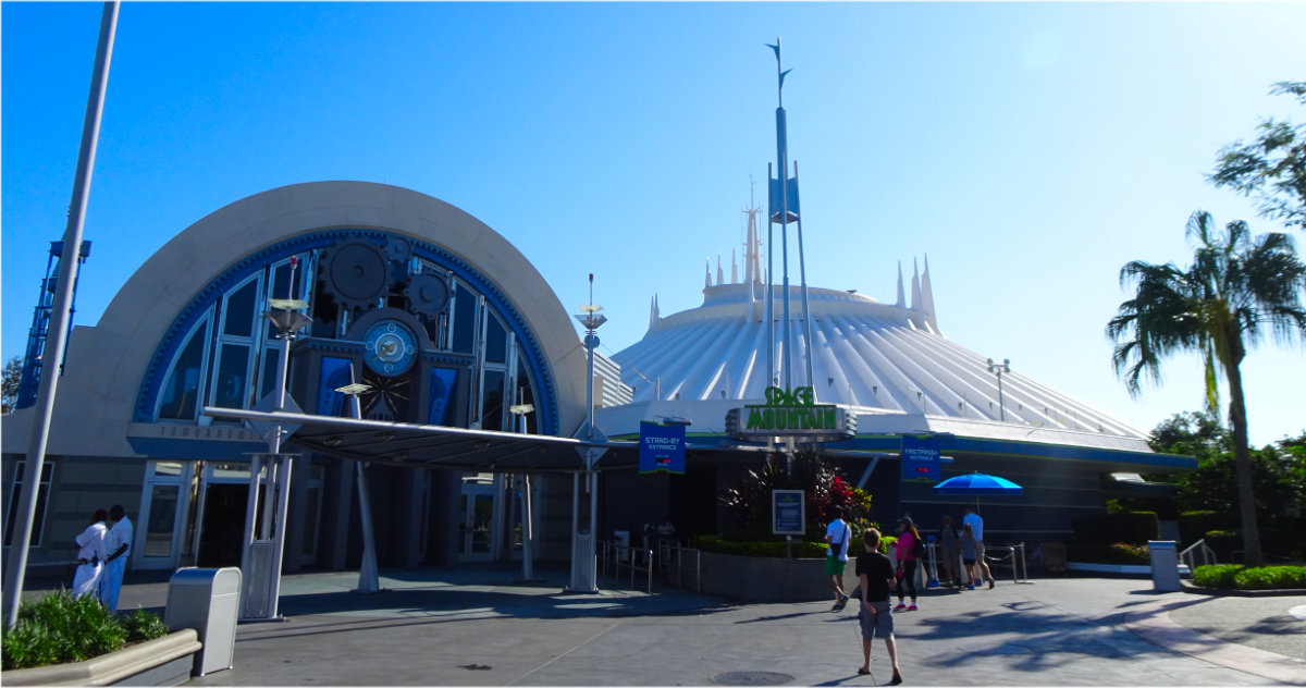 Space Mountain Movie In Development