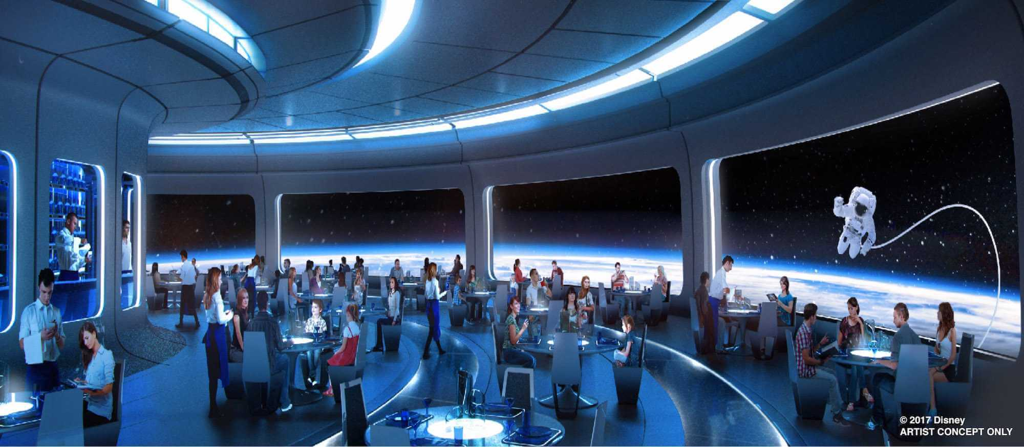 Space 220 Restaurant At Epcot Opening Date Revealed