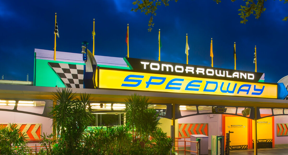 Tomorrowland Speedway At Magic Kingdom Reopens