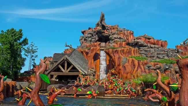 Splash Mountain Closed For Refurbishment Later This Year