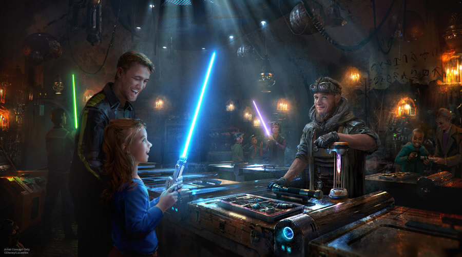 New Star Wars: Galaxy`s Edge Details Released