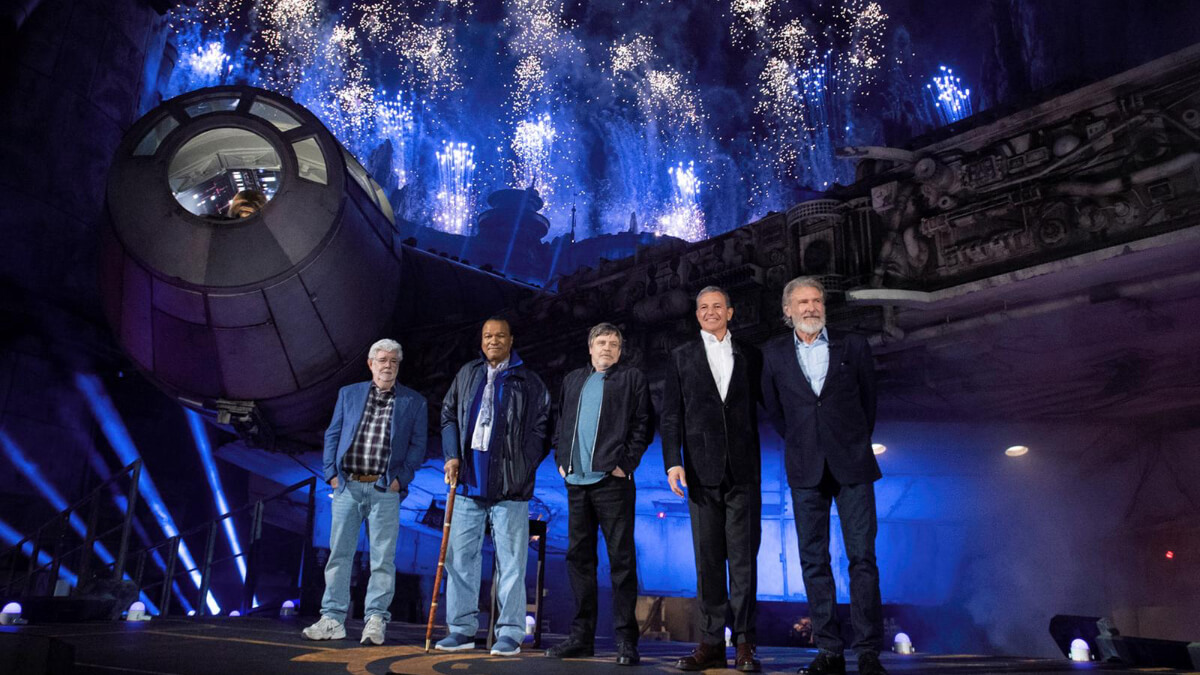 Star Wars Legends At Star Wars: Galaxys Edge Opening
