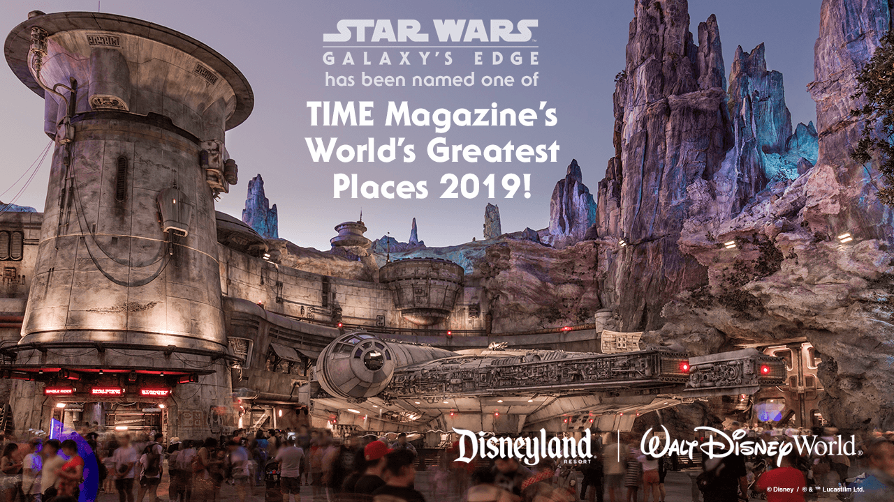 Star Wars: Galaxys Edge Named `Worlds Greatest Place` 2019