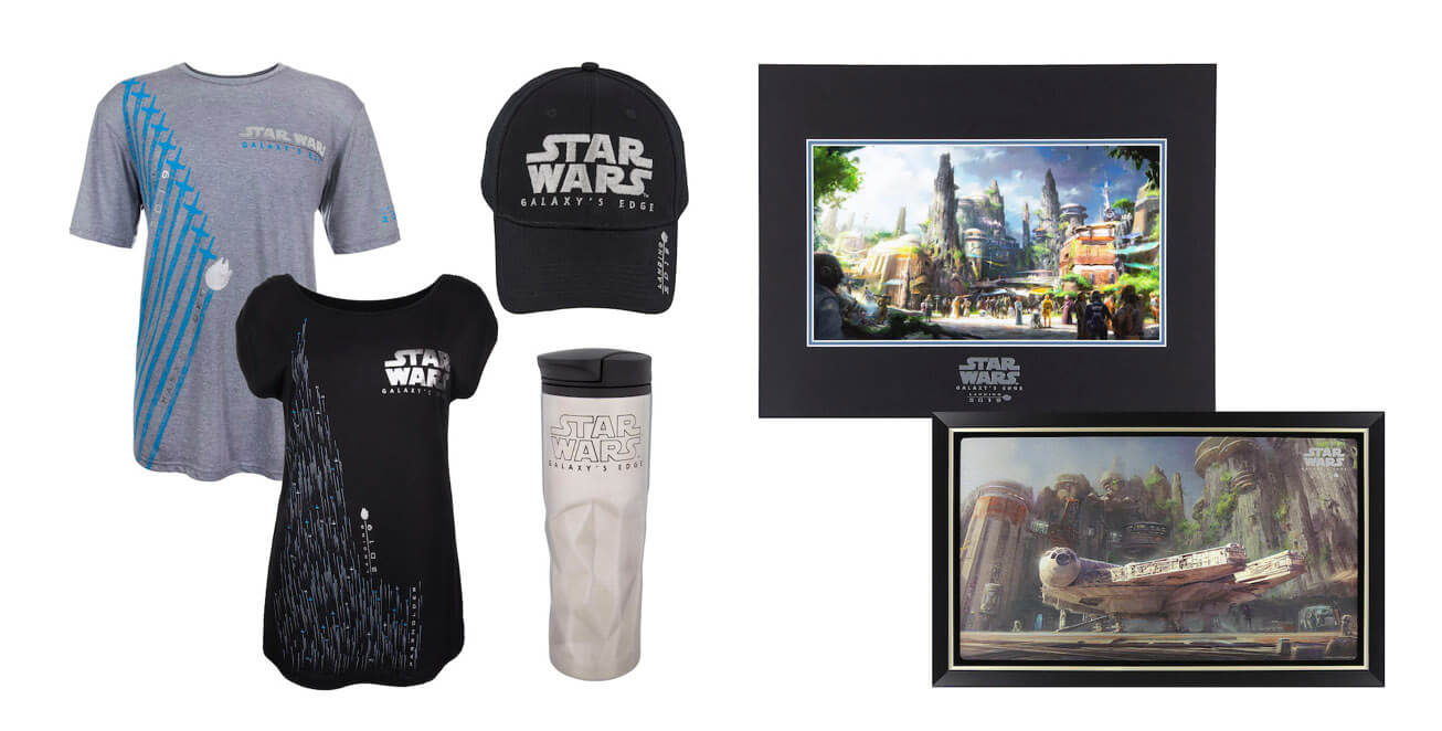 Star Wars Galaxy Edge Merchandise Revealed