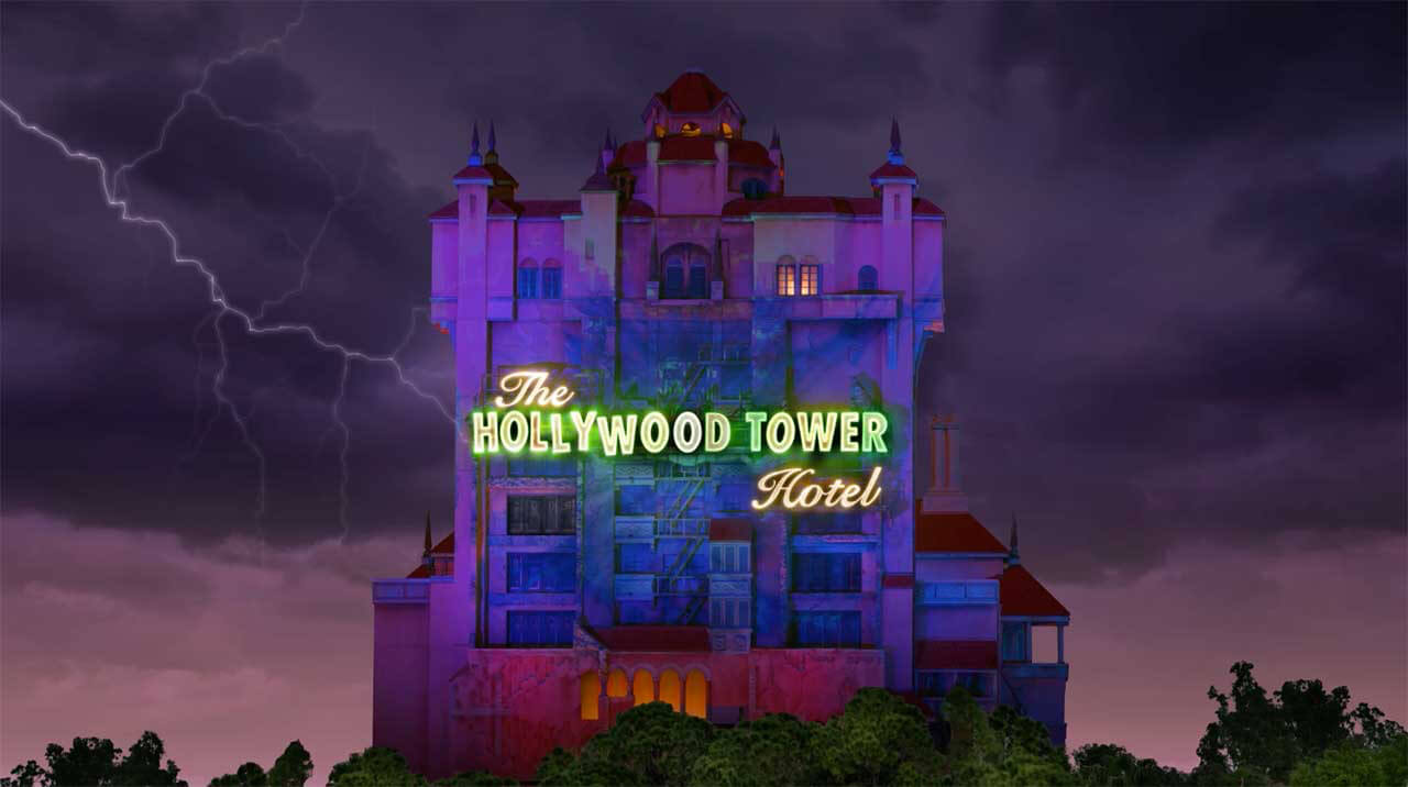 New Animated Tower Of Terror Magic Shot