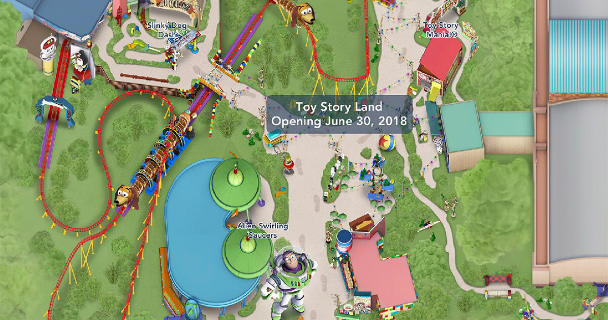 Toy Story Land Now Displayed On My Disney Experience