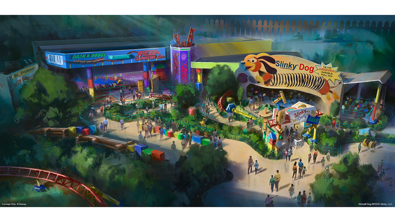 Toy Story Land At Hollywood Studios Opening Date Revealed