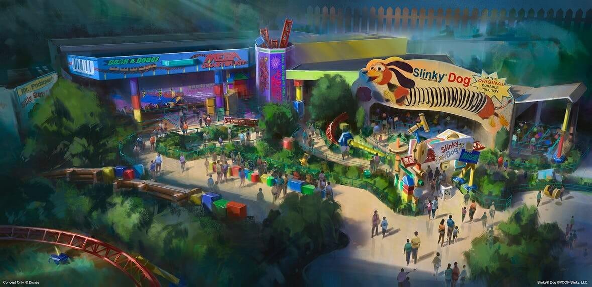 Toy Story Land To Open Summer 2018