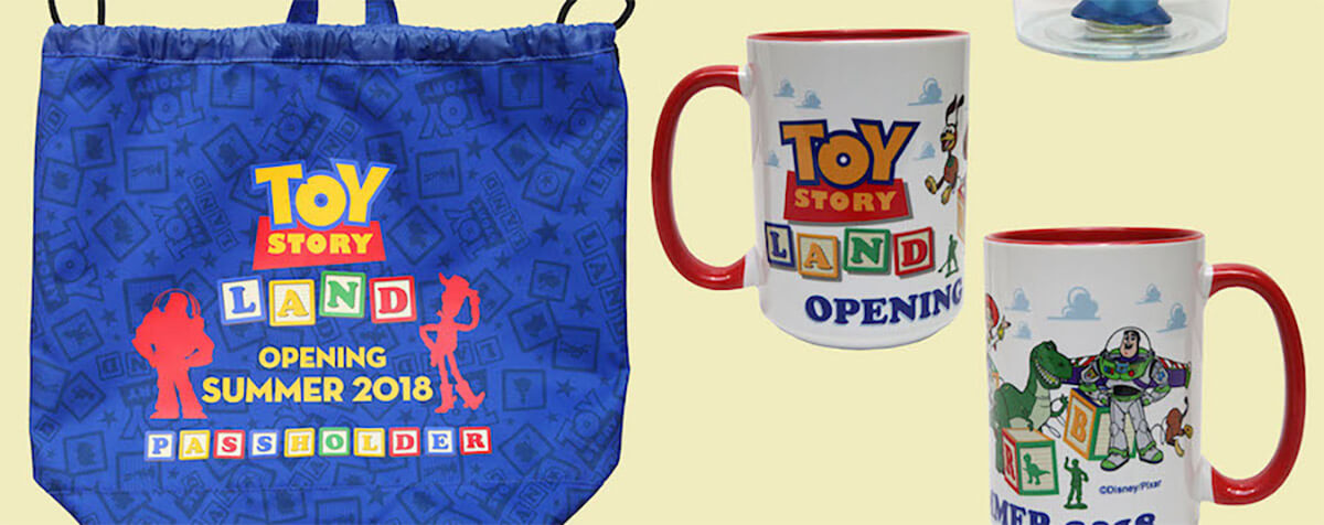 Disney Shares Look At Some Toy Story Land Merchandise