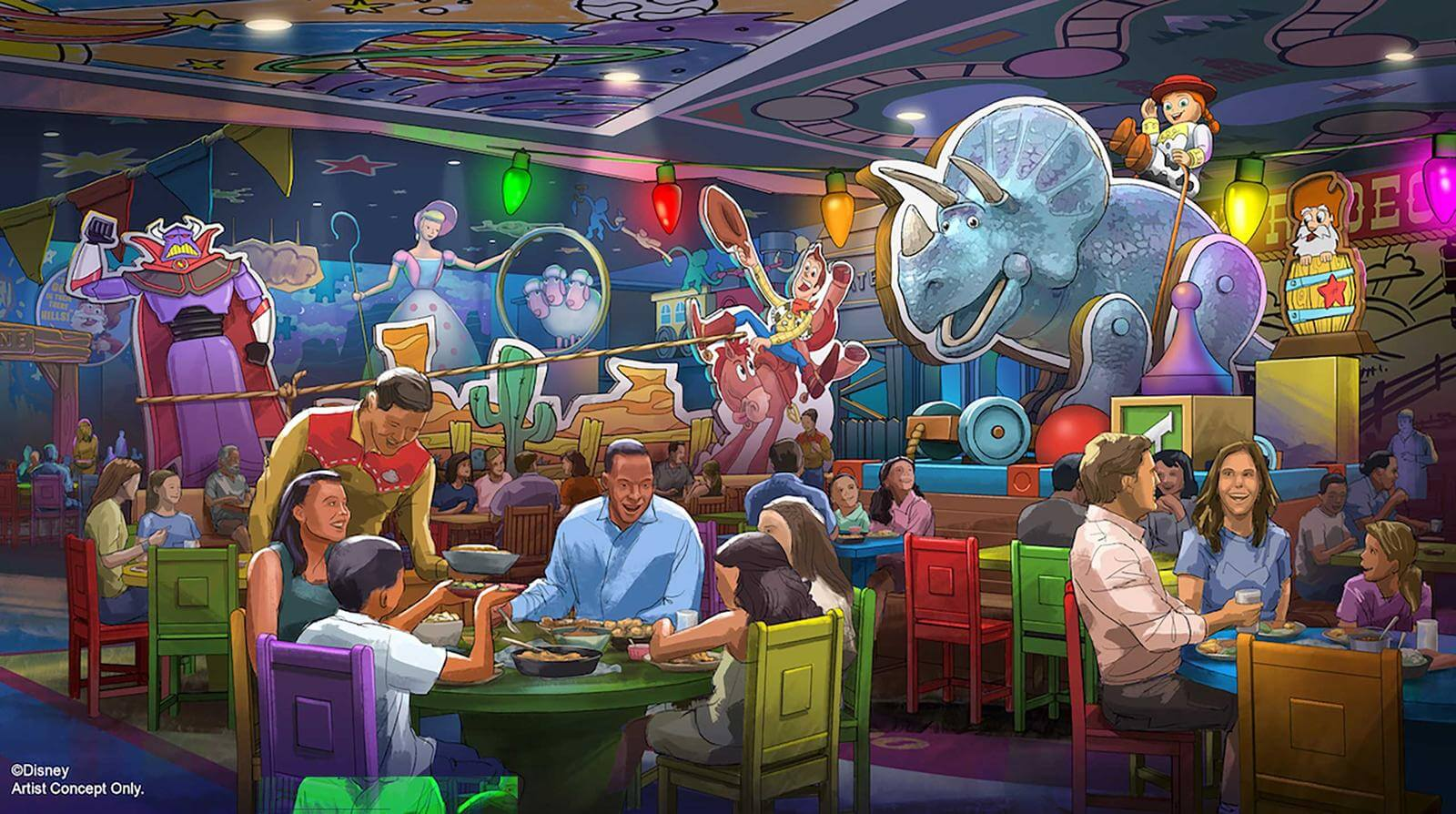 New Table Service Restaurant Coming To Toy Story Land