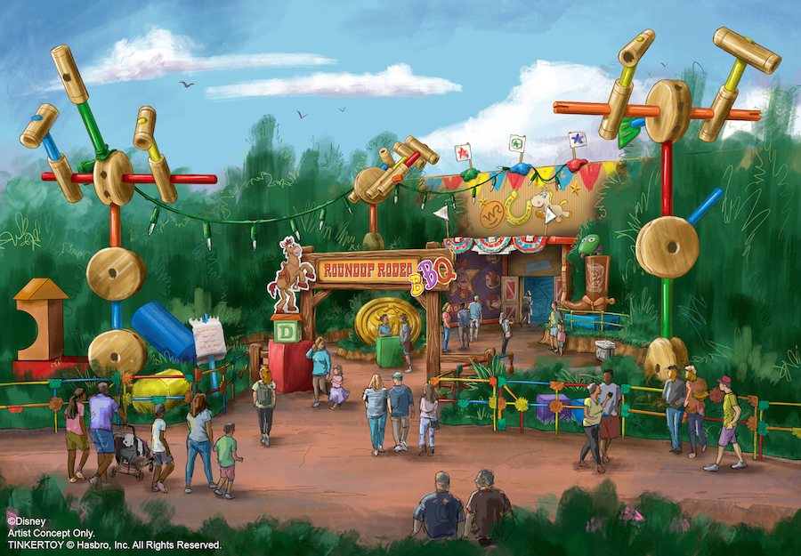 New Details On Upcoming Toy Story Land Restaurant
