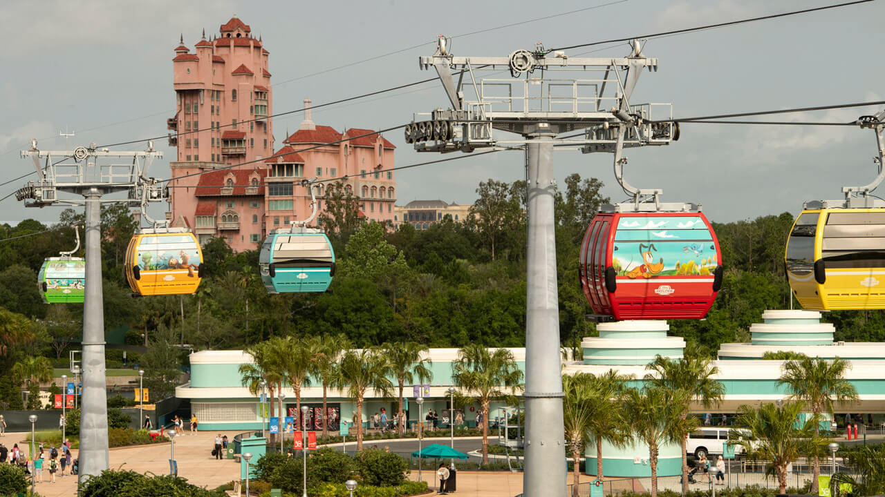 Disney Announces Skyliner Opening Date