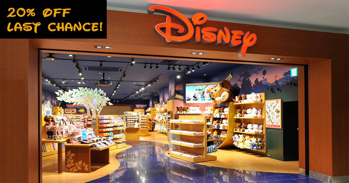 20% Off ShopDisney Sitewide