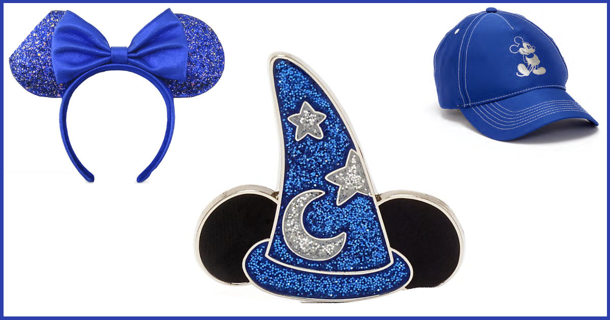 Limited Release Walt Disney World Wishes Blue Fantasia Collection Available On ShopDisney