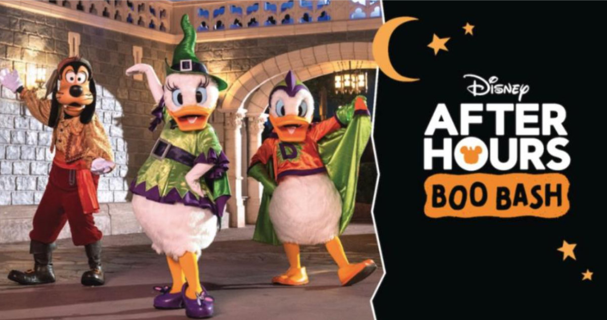 Disney After Hours BOO BASH Now On Sale